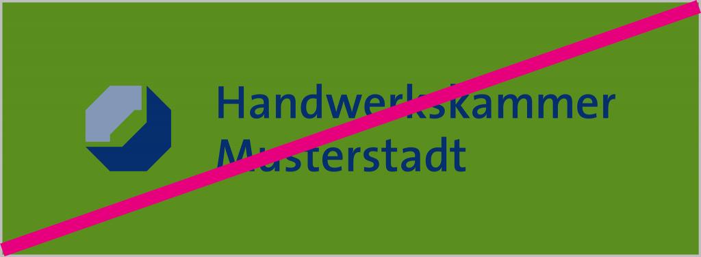 Logo 4-farbig nicht auf Farbe
