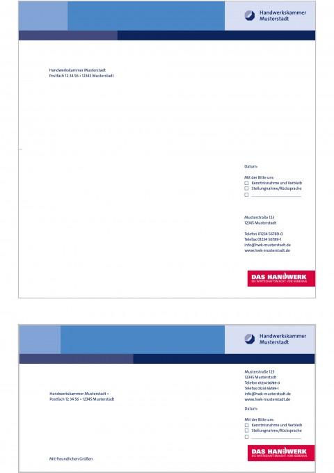 Office Mastertemplates Styleguide Der Handwerkskammern