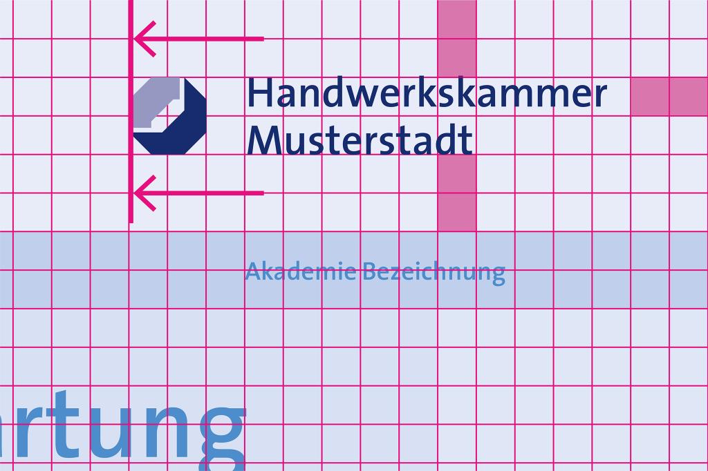 Logopositionierung