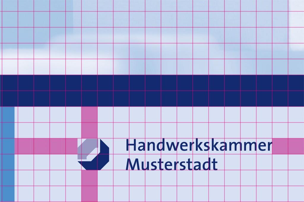 Plakat Absenderfuß Logo